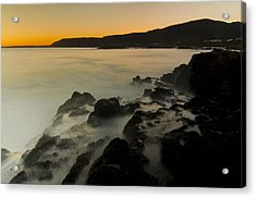Hermanus Sunset Acrylic Print by Aaron Bedell
