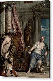 Hermes, Herse And Aglauros, C.1576-84 Acrylic Print