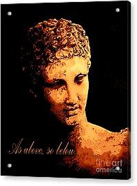Hermes Trismegistus Acrylic Print