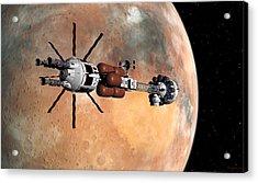 Hermes1 Mars Insertion Part 1 Acrylic Print