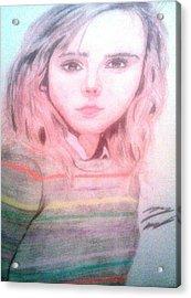 Hermione Granger Acrylic Print by Corey Hopper