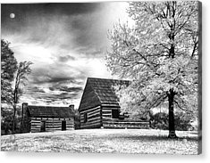 Hermitage Cabins Acrylic Print