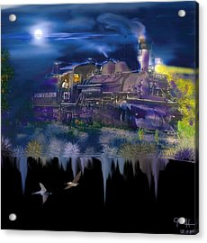 Hermosa Night Acrylic Print by J Griff Griffin
