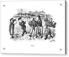 Hero Acrylic Print by William Steig