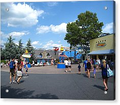 Hershey Park - 121245 Acrylic Print by DC Photographer