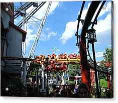Hershey Park - 121246 Acrylic Print by DC Photographer