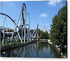 Hershey Park - Great Bear Roller Coaster - 12126 Acrylic Print