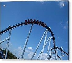 Hershey Park - Great Bear Roller Coaster - 12129 Acrylic Print