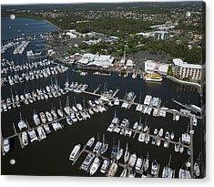 Hervey Bay Boat Club, Hervey Bay Acrylic Print