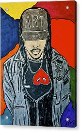 He's Got Swag Acrylic Print by Chrissy  Pena