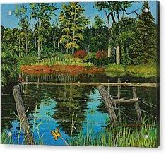 Hesperus Pond Acrylic Print