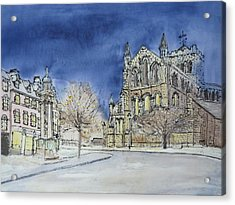 Hexham Abbey England Acrylic Print