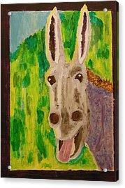 Hey Jack Acrylic Print by Harold Greer