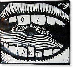 HI Acrylic Print by David King