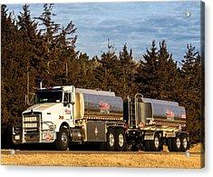 Hi-line Coop Tanker Acrylic Print