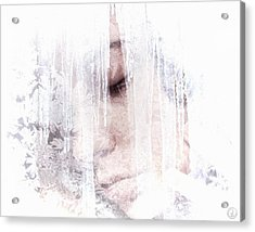 Hibernation Acrylic Print by Gun Legler