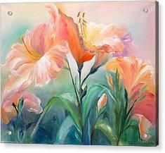 Hibiscus Acrylic Print by Marina Wirtz