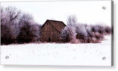 Hidden Barn Acrylic Print by Julie Hamilton
