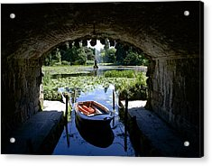 Hidden Boat Acrylic Print by Charlie Brock