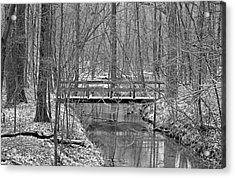 Hidden Bridge Acrylic Print