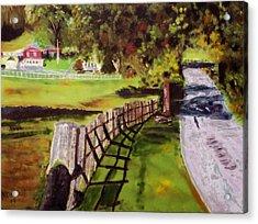 Hidden Brook Farm Acrylic Print