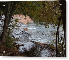 Hidden Brook Acrylic Print by Judith Russell-Tooth