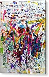 Hidden Acrylic Print by David Baruch Wolk