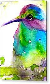 Hidden Acrylic Print by Dawn Derman