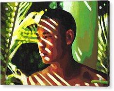 Hidden In The Forest Acrylic Print by Douglas Simonson