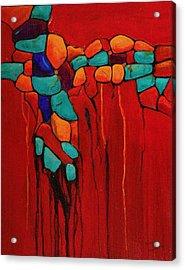 Hidden Nuggets Acrylic Print by Nancy Jolley