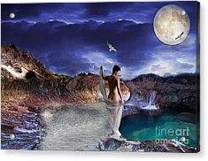 Hidden River Acrylic Print by Liane Wright