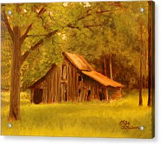 Acrylic Print featuring the painting Hidden Treasure by Rick Fitzsimons