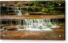 Hidden Waterfall Acrylic Print by Jen Morrison