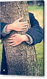 Hide And Seek Acrylic Print by Delphimages Photo Creations