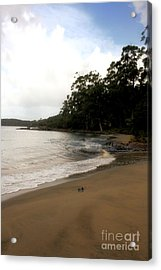 Hide Away Beach Acrylic Print