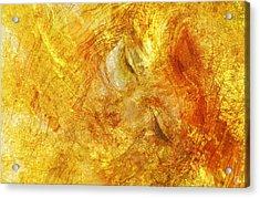 Hiding In Yellow Acrylic Print by Gun Legler