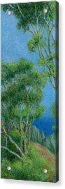 High Above Na Pali 2 Acrylic Print by Kenneth Grzesik