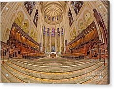 High Altar At Saint John The Divine Cathedral  Acrylic Print