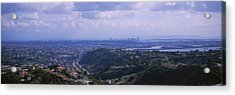 High Angle View Of A Bridge, Coronado Acrylic Print