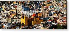 High Angle View Of A City, Basilica Acrylic Print by Panoramic Images