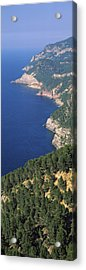 High Angle View Of A Coastline, Mirador Acrylic Print