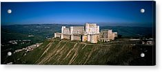High Angle View Of A Fort, Crac Des Acrylic Print by Panoramic Images