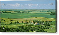 High Angle View Of A Landscape, Arnold Acrylic Print by Panoramic Images