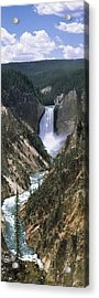 High Angle View Of A River, Artist Acrylic Print by Panoramic Images