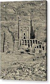 High Angle View Of Royal Tombs Acrylic Print