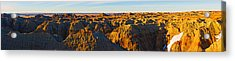 High Angle View Of White River Overlook Acrylic Print