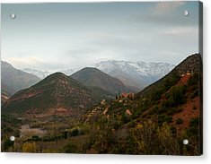 High Atlas Acrylic Print by Daniel Kocian