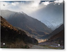 High Atlas Mountains Acrylic Print by Daniel Kocian
