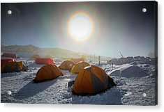 High Camp Acrylic Print by Peter J. Raymond