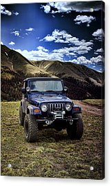 High Country Adventure Acrylic Print